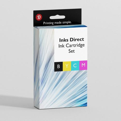 Compatible Hp Set Ink Cartridge