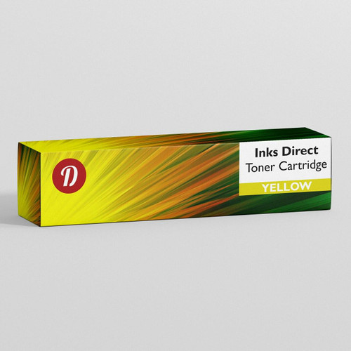 Compatible Dell 593-BBBR Yellow Toner Cartridge
