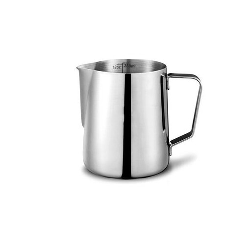 Gear Geek Stainless Steel Milk Frothing Pitcher For Coffee
