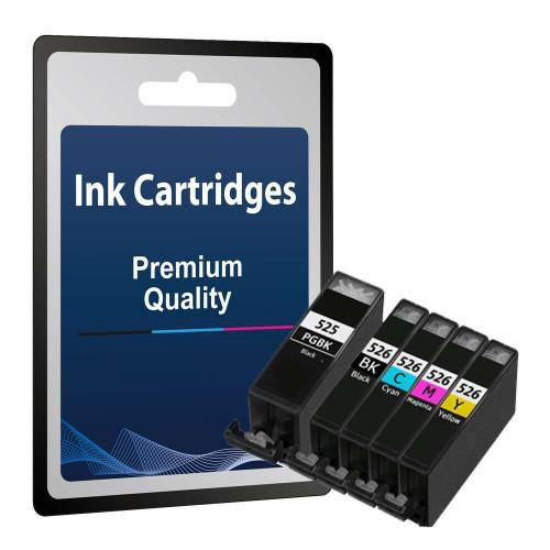 Compatible Canon Pgi525 Cli526 Ink Cartridge Set