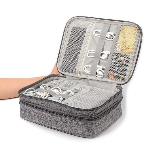 Gear Geek Cable Storage Travel Bag
