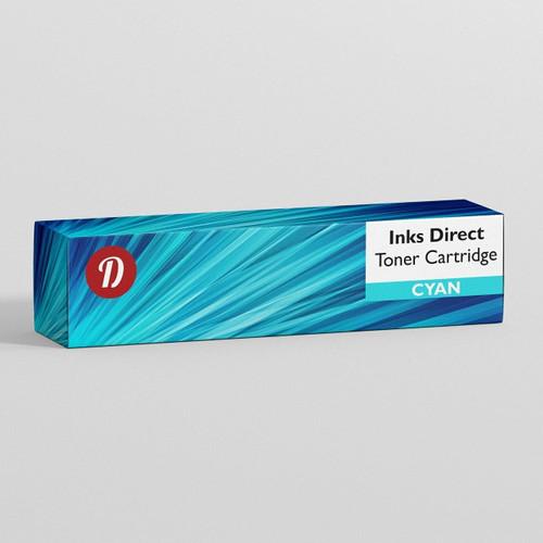 Compatible Hp Q7581A cyan toner