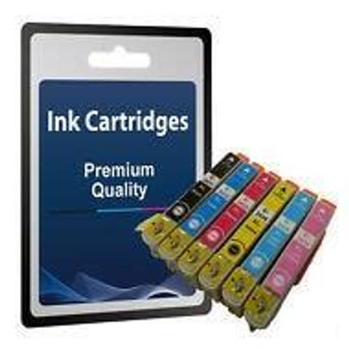 Compatible Epson 24XL, T2431, 2, 3, 4, 5, 6 Ink Cartridge Set