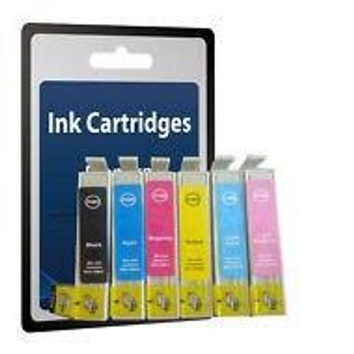Compatible Epson T0487 Ink Cartridge Set