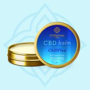CBD BALM 200MG CHILLFLEX