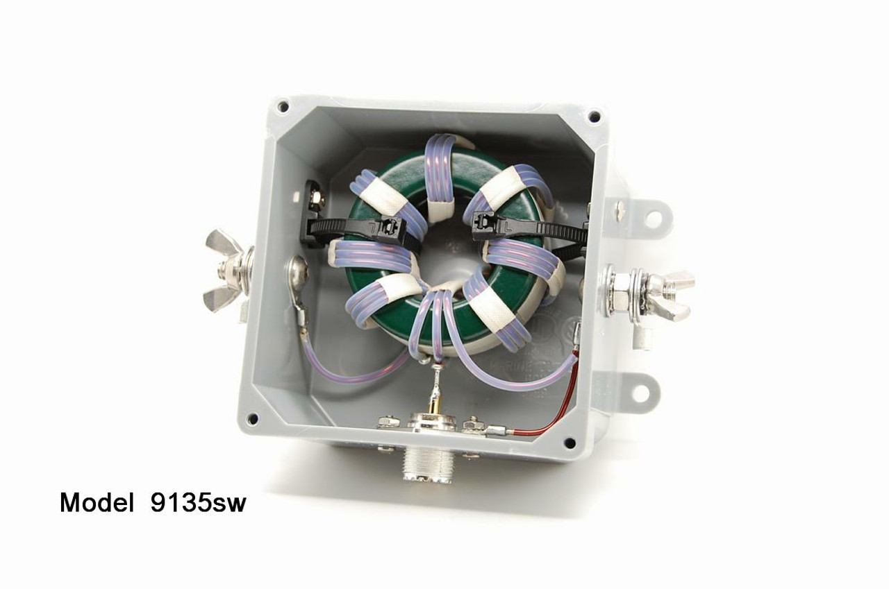 Model 9135 - 9:1 Unun 1 5 - 54MHz - 5kW