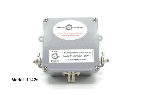Model 1142s - 1:1 FCP Isolation Transformer 2kW