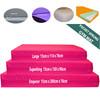 Kosipad 15cm Thick Pocket Sprung foam gym crash mats Pink all sizes