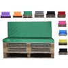 Kosipad Green cushions for pallet furniture for Euro Pallets