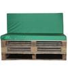 Kosipad Green waterproof euro pallet cushions for Euro Pallets