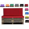 Kosipad Red Pallet Cushions for Euro Pallets