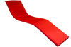 4cm Thick Sun Lounger Mattress, Red sun lounger cushions uk- Kosipad