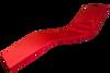 4cm Thick Sun Lounger Mattress, Red sun lounger pad- Kosipad