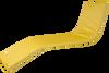 KosiPad Waterproof Sun Lounger Mattress For Garden waterproof sun lounger cushions Yellow