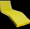 KosiPad sun lounger cushions uk Yellow