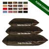kosikush Black Sherpa Fleece Large Floor Cushions