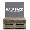 Kosipad Grey cushions for pallet furniture for Euro Pallets