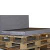 Kosipad Grey waterproof pallet  Cushions for Euro Pallets