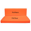 Kosipad Orange cushions for pallet furniture for Euro Pallets