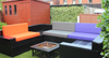 Kosipad Purple pallet furniture cushions for Euro Pallets