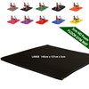 Kosipad 3cm Thick foam floor gym crash mats Black Large