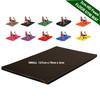 Kosipad 3cm Thick foam floor gym crash mats Black Small