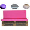 Kosipad Pink pallet furniture cushions for Euro Pallets