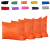 Kosipad Orange Square waterproof cushions for outdoor furniture