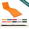 KosiPad Waterproof sun lounger mattress Orange