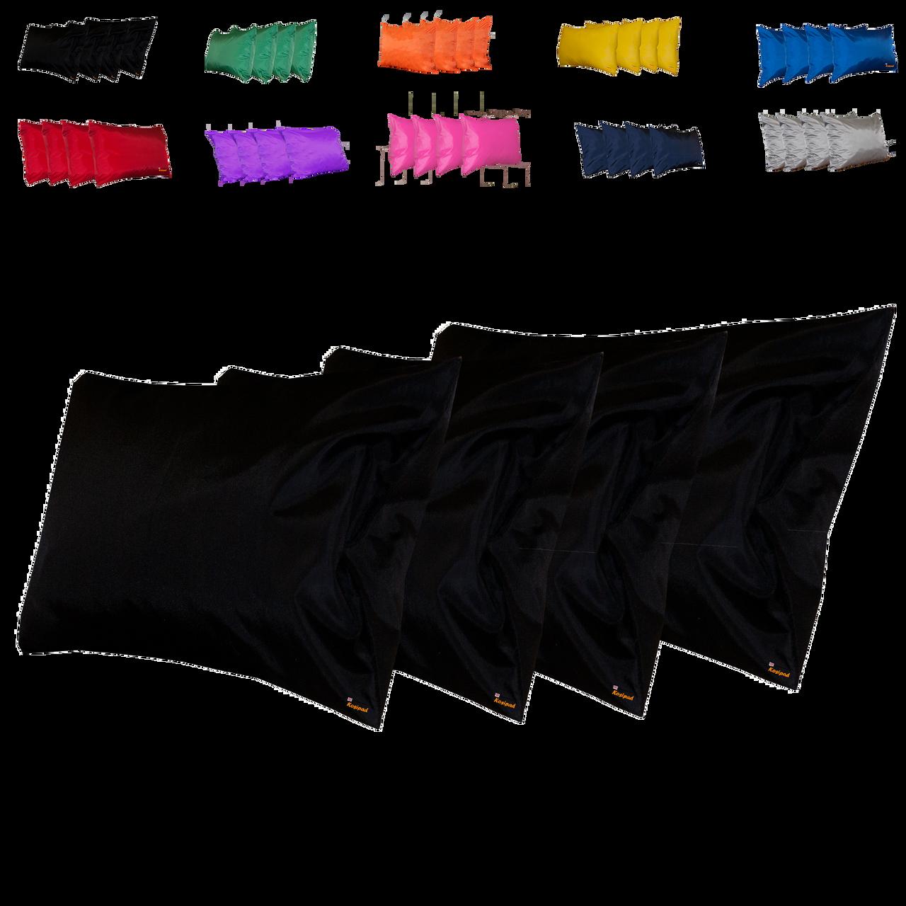 Kosipad Black Square waterproof outdoor cushions