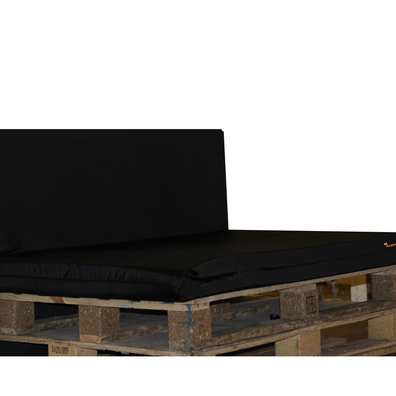 Kosipad Purple pallet seating Cushions for Euro Pallets