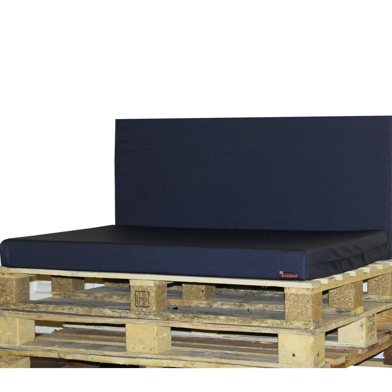 Kosipad Navy Blue foam cushion pads seating Cushions for Euro Pallets