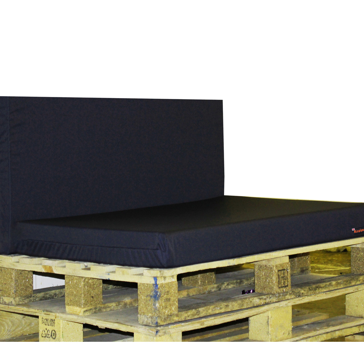 Kosipad Navy Blue pallet seating Cushions for Euro Pallets