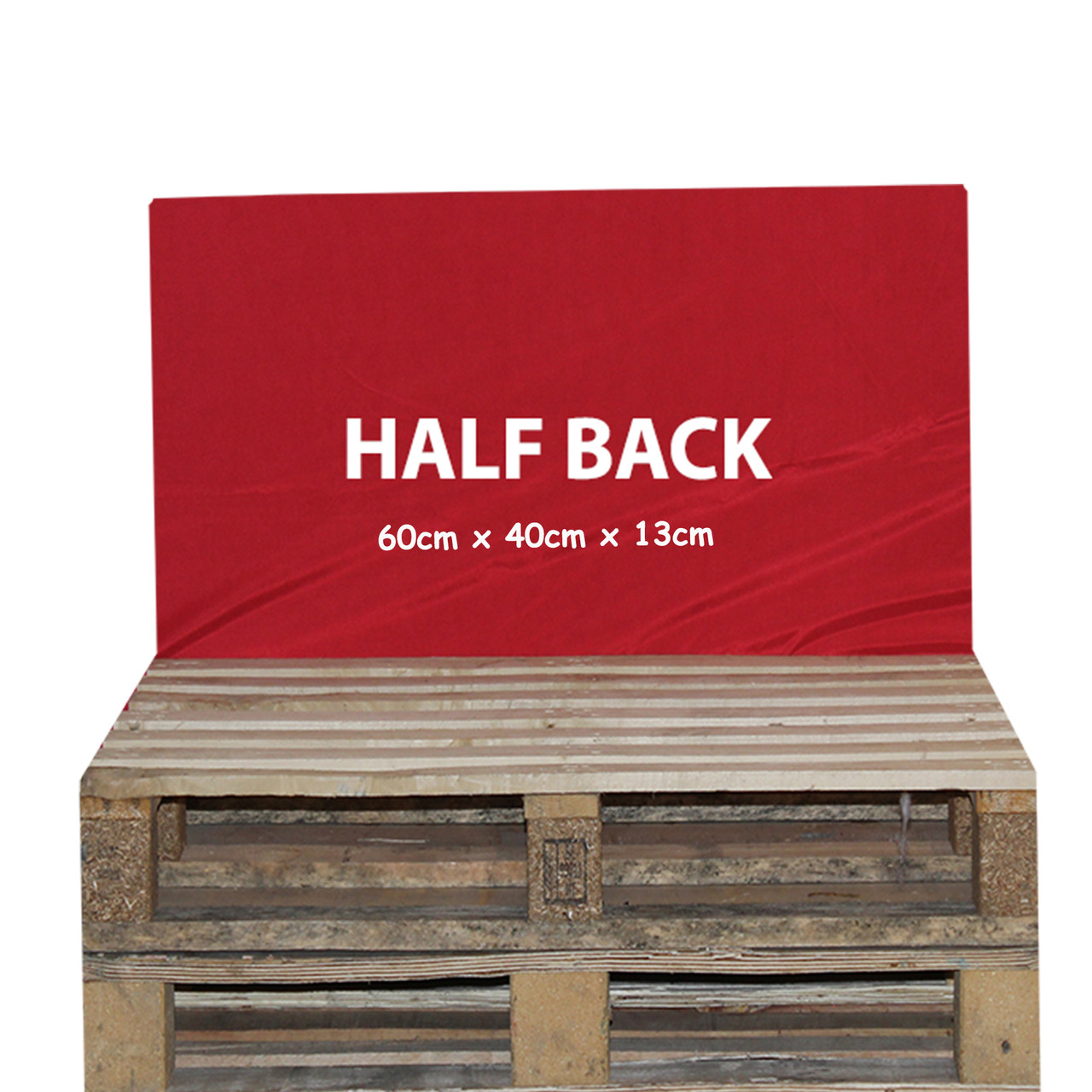 Kosipad Red waterproof pallet  Cushions for Euro Pallets