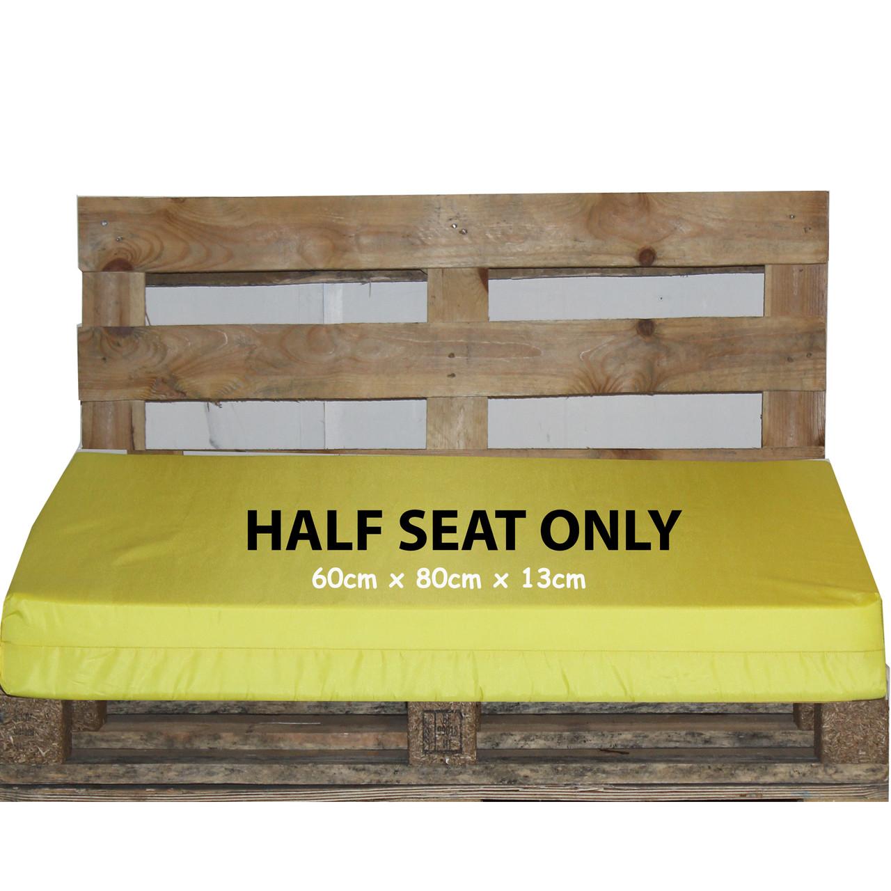 Kosipad Yellow pallet garden furniture cushions for Euro Pallets