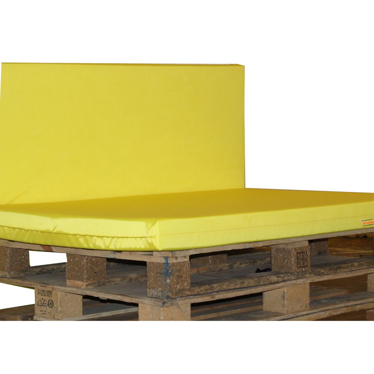 Kosipad Yellow waterproof pallet  Cushions for Euro Pallets