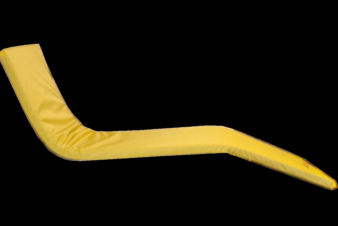 KosiPad Waterproof sunbed mattress Yellow