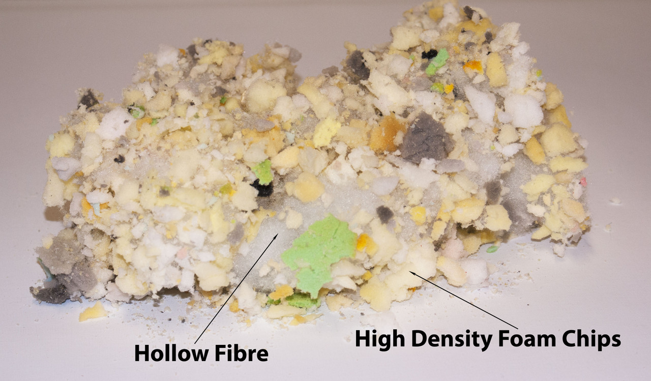 kosikrafts 1kg hollow fibre + Memory Foam mix