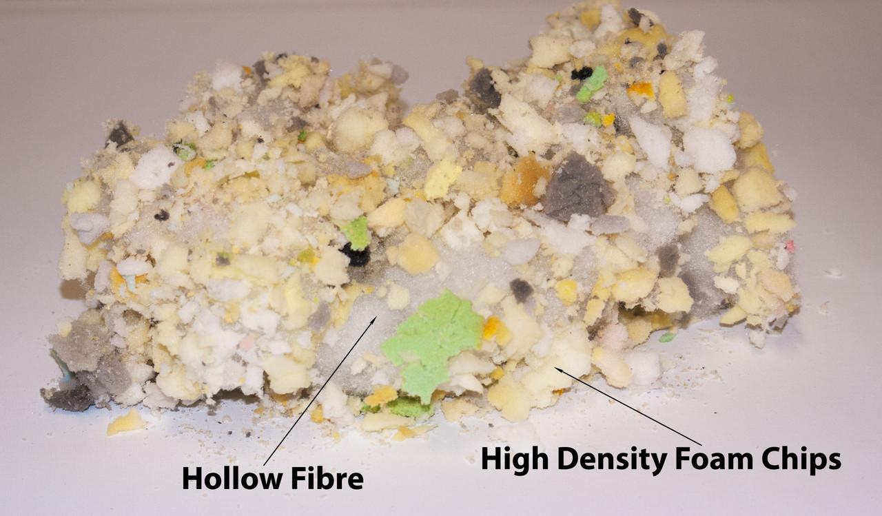 kosikrafts 2kg hollow fibre + Memory Foam mix