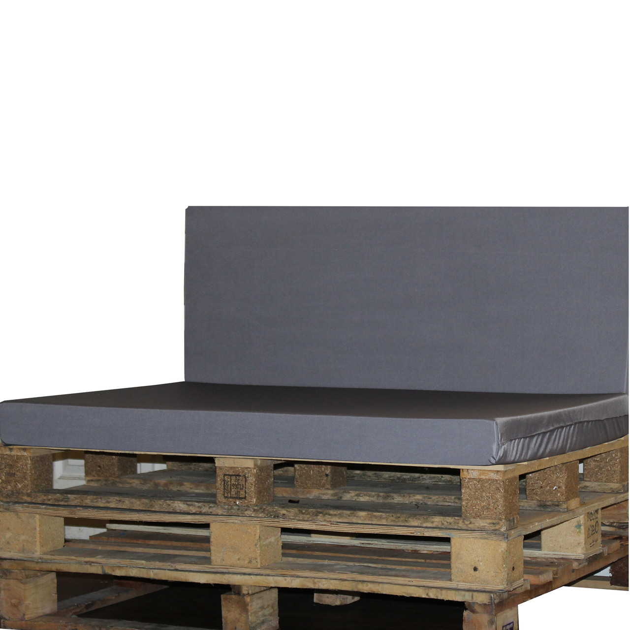 Kosipad Grey foam cushion pads seating Cushions for Euro Pallets