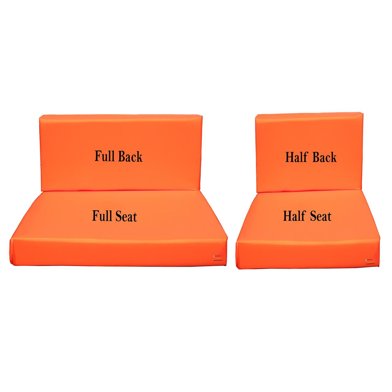Kosipad Orange waterproof pallet  Cushions for Euro Pallets