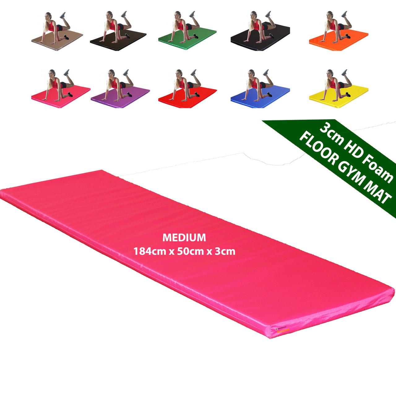 Kosipad 3cm Thick foam floor gym crash mats Orange Blue Medium