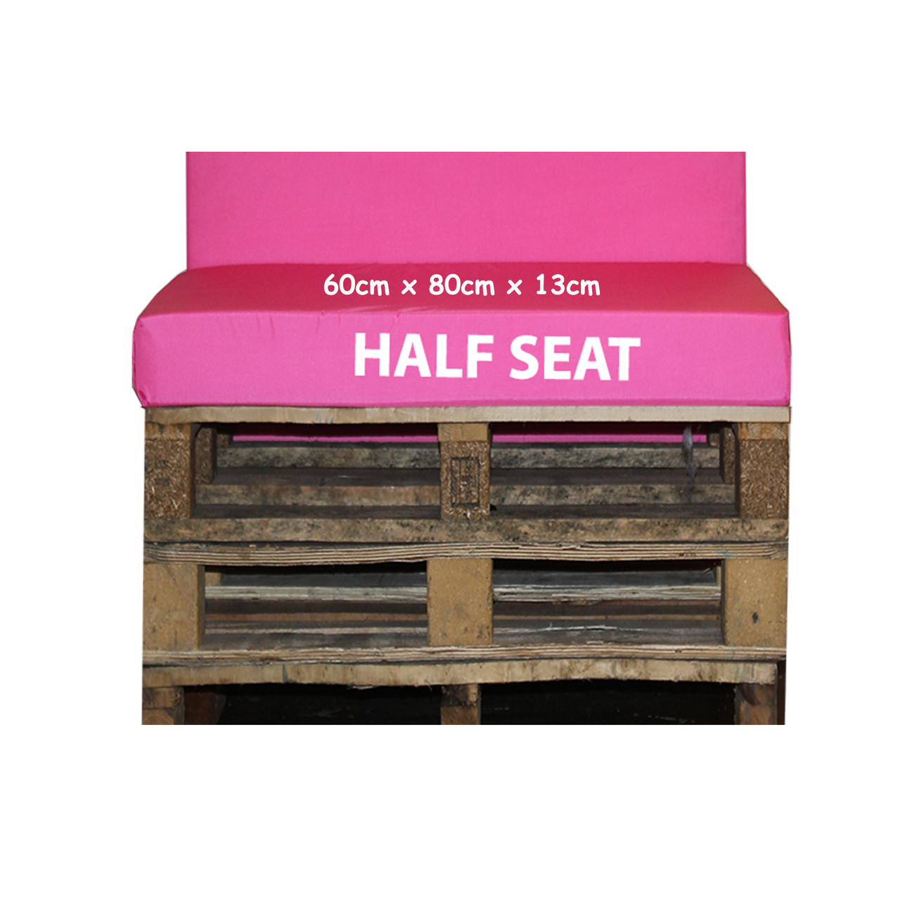 Kosipad Pink cushions for pallet furniture for Euro Pallets