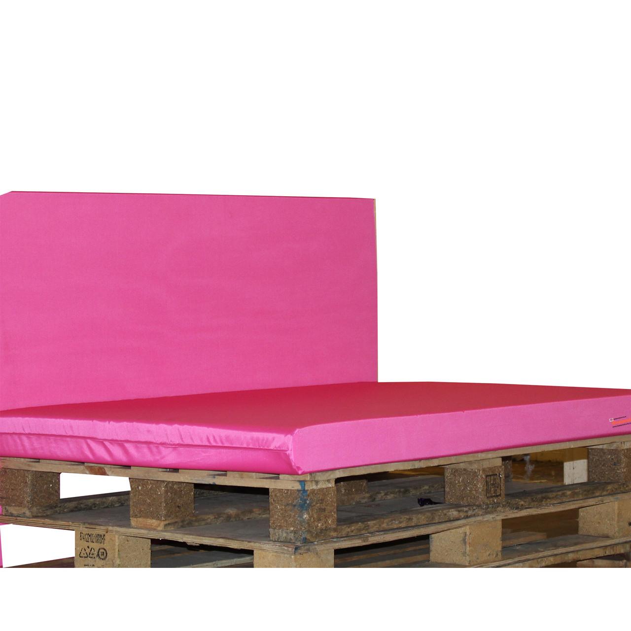 Kosipad Pink foam cushion pads seating Cushions for Euro Pallets