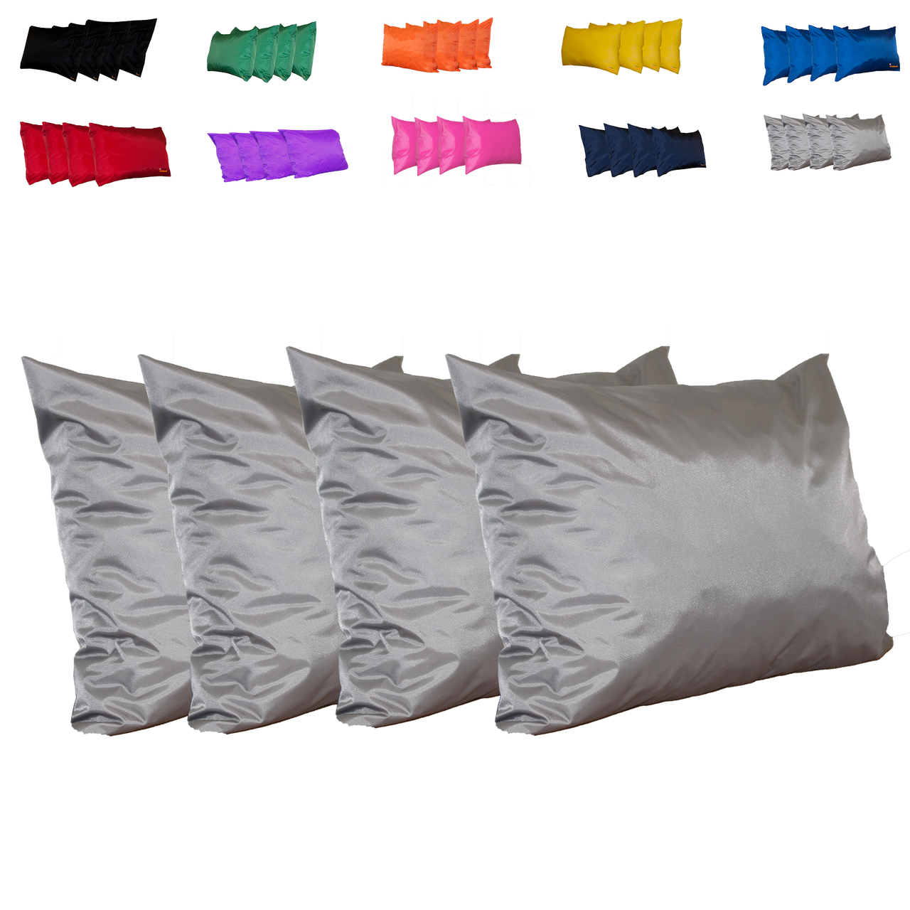 Kosipad Grey Square waterproof cushions for outdoor furniture