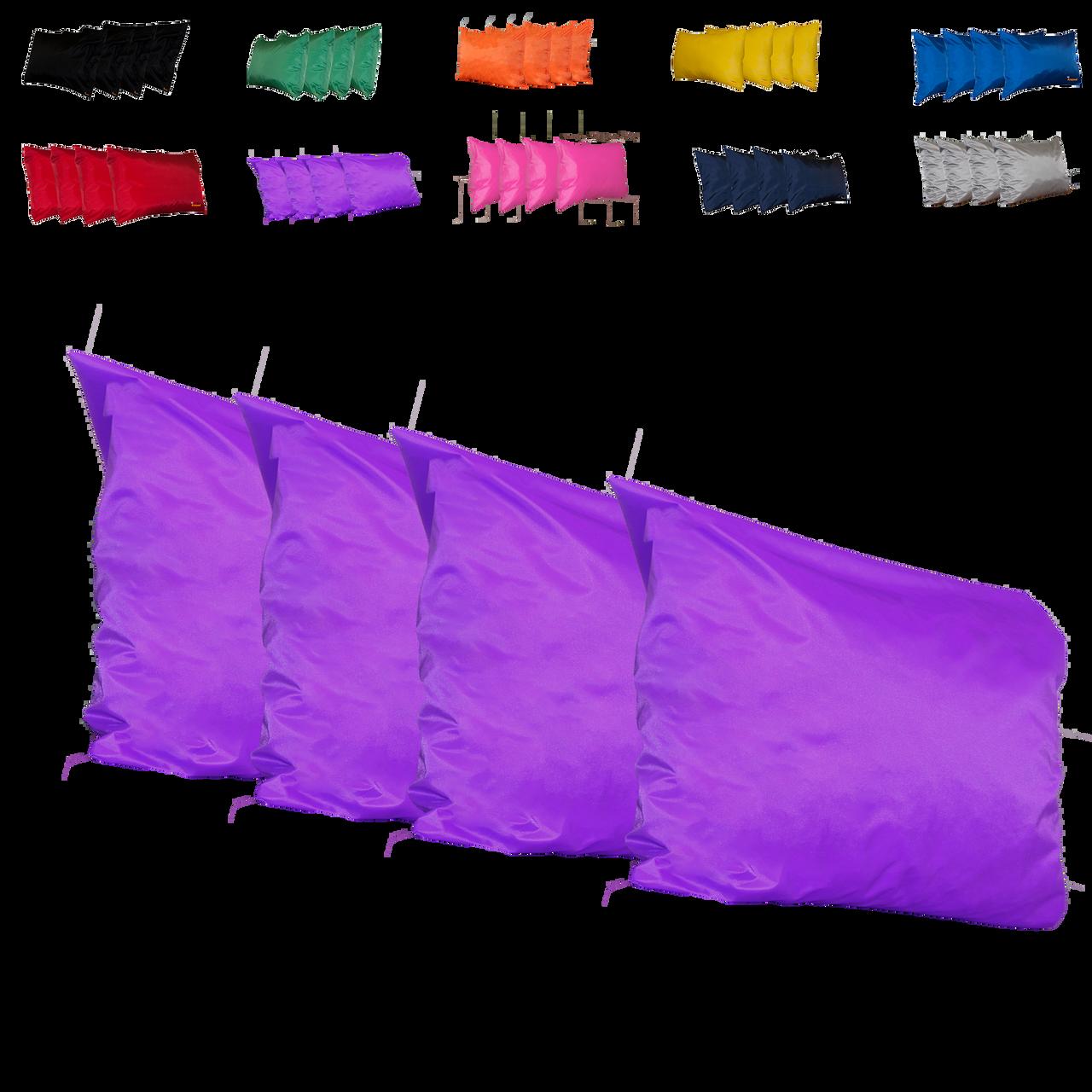 Kosipad Purple Square waterproof cushions for outdoor furniture