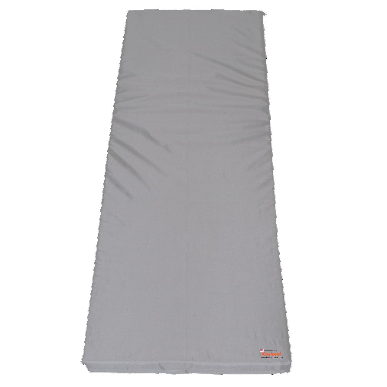 KosiPad Waterproof Sun Lounger Mattress For Garden Sunburst Grey