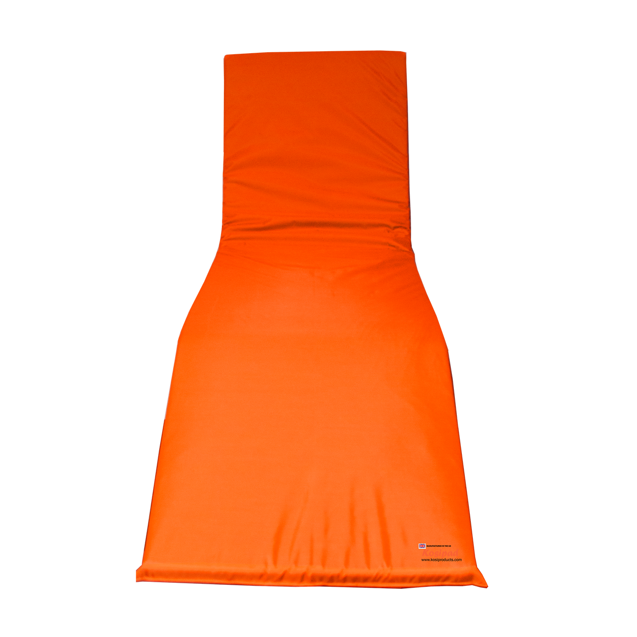 KosiPad Waterproof sun lounger cushion pads Orange