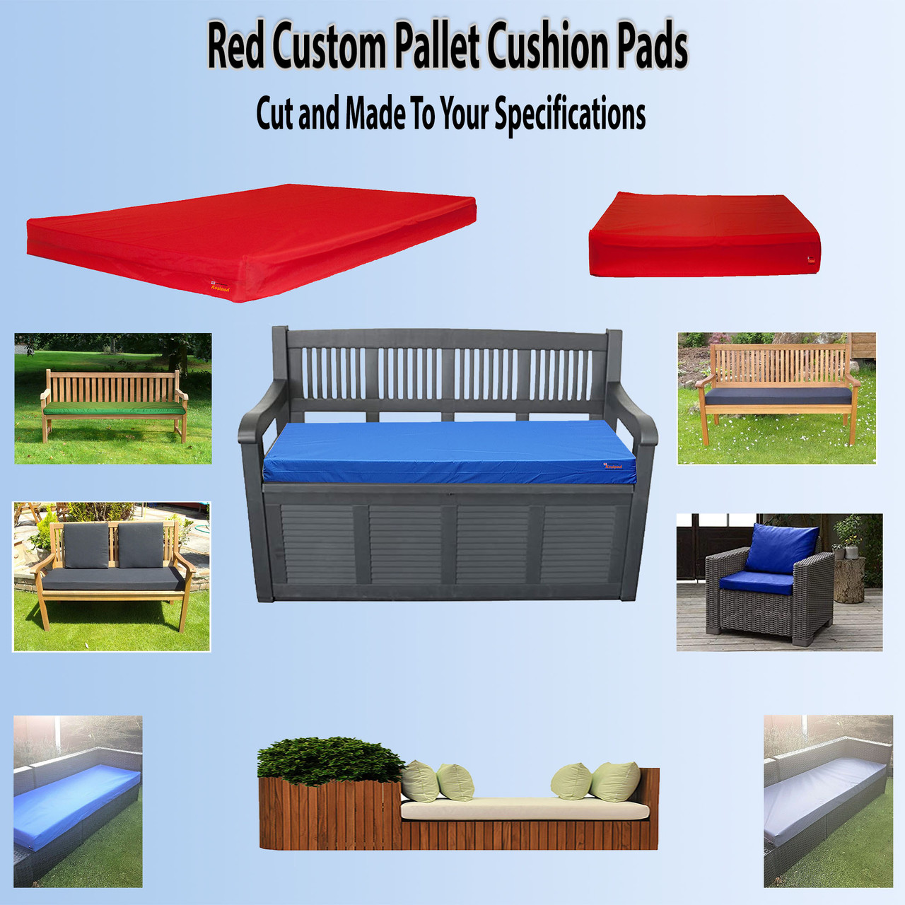 red-Custom-pallet-cushion-pads-cut-to-size