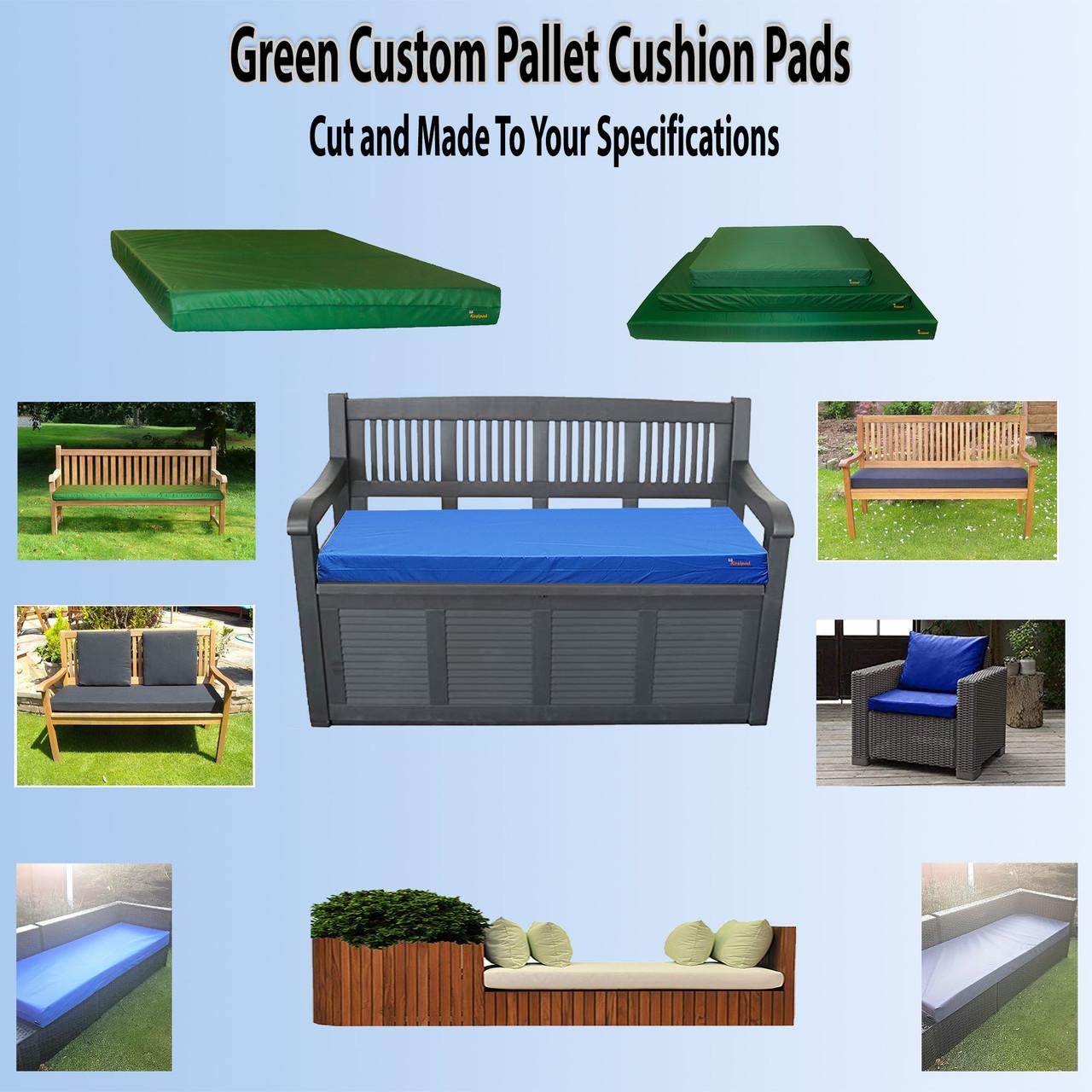 green-Custom-pallet-cushion-pads-cut-to-size-main